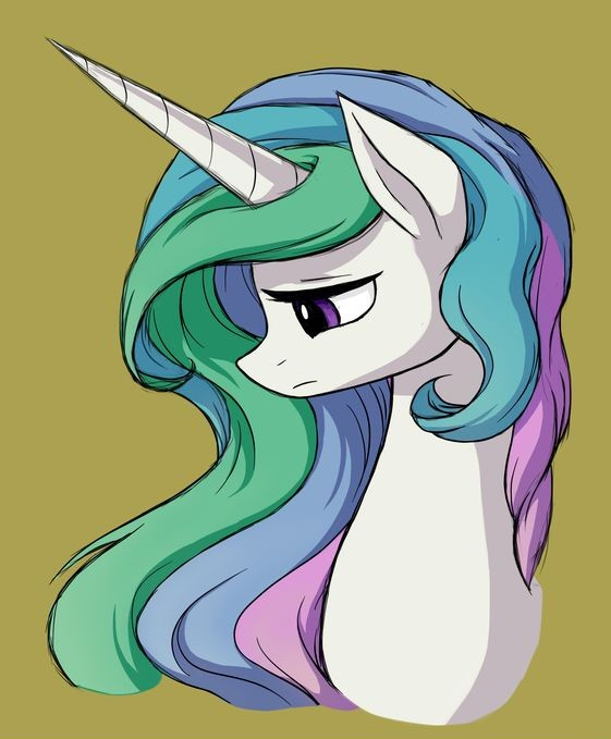 Рисунки пони принцесса луна