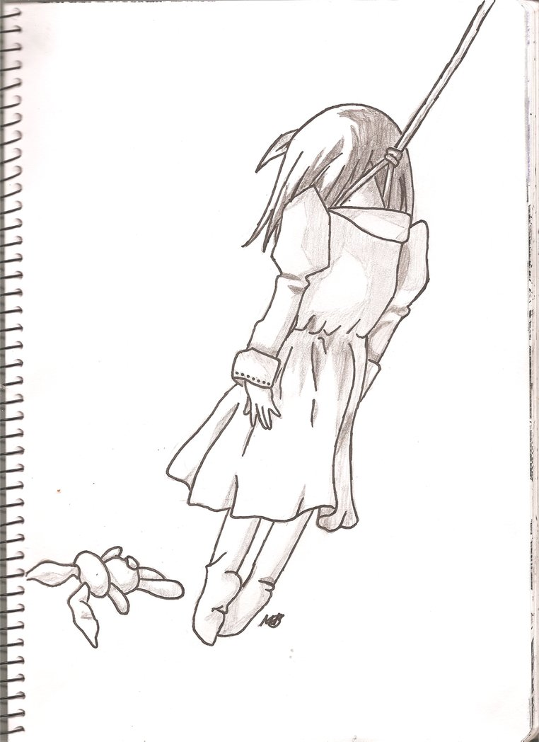 Депрессия картинки для срисовки