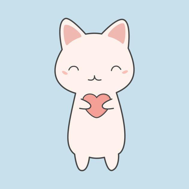 Рисунки для срисовки котики (30 картинок)