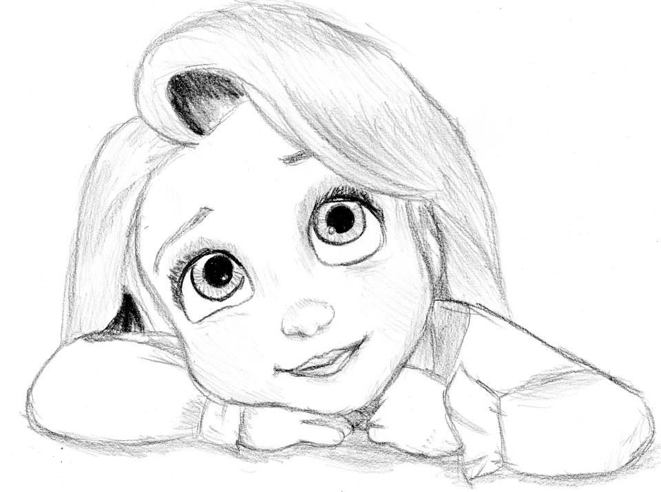 Картинки для срисовки персонажи карандашом