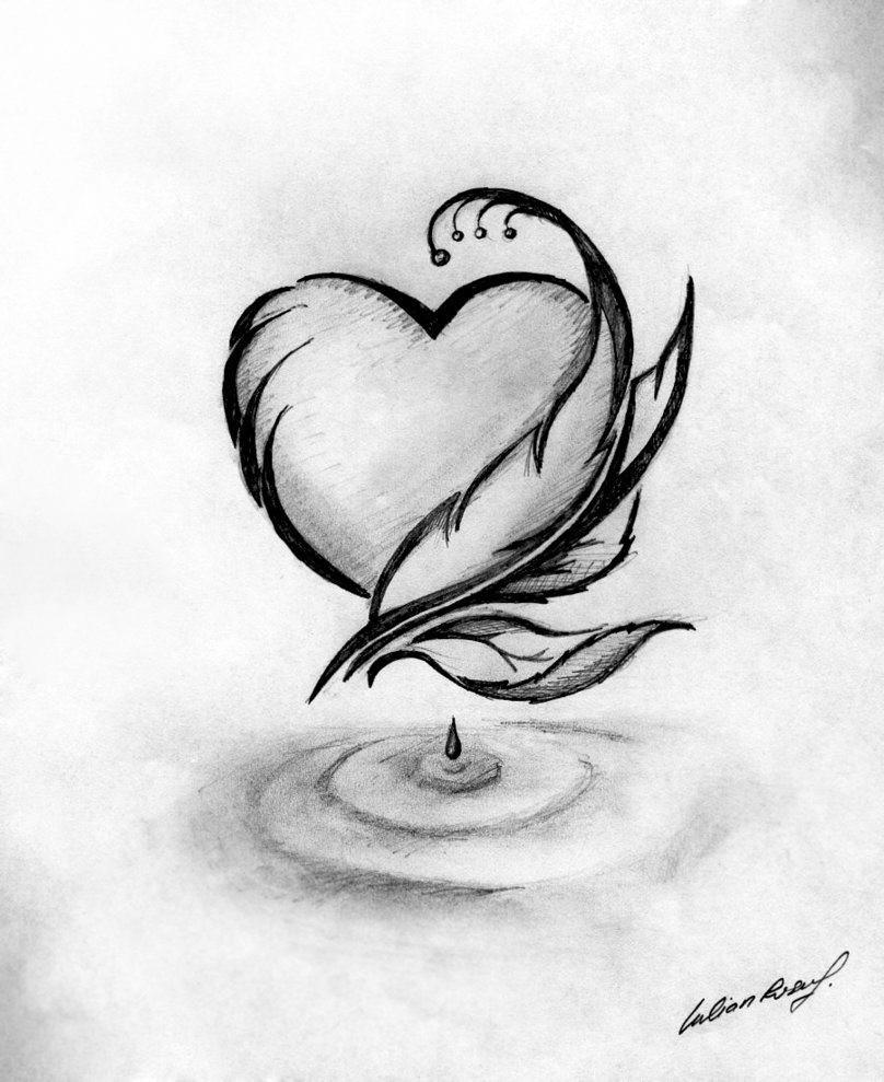 Красивые картинки и легкие для рисования
