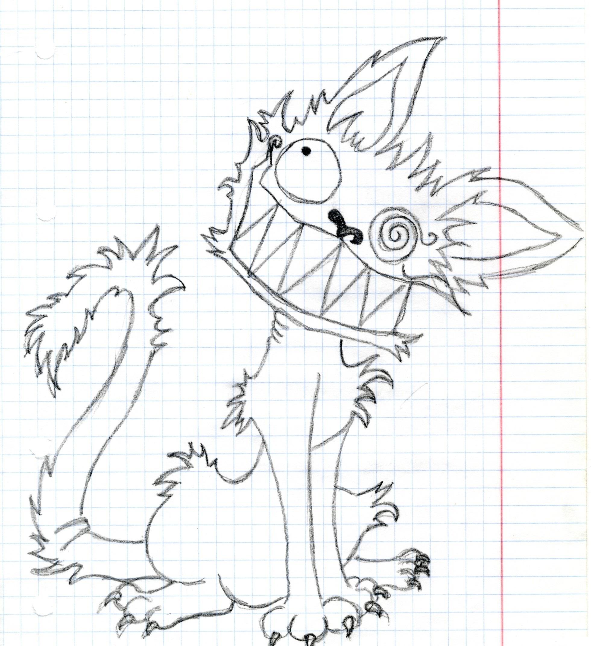 Как рисовать карандашом прикольную картинку