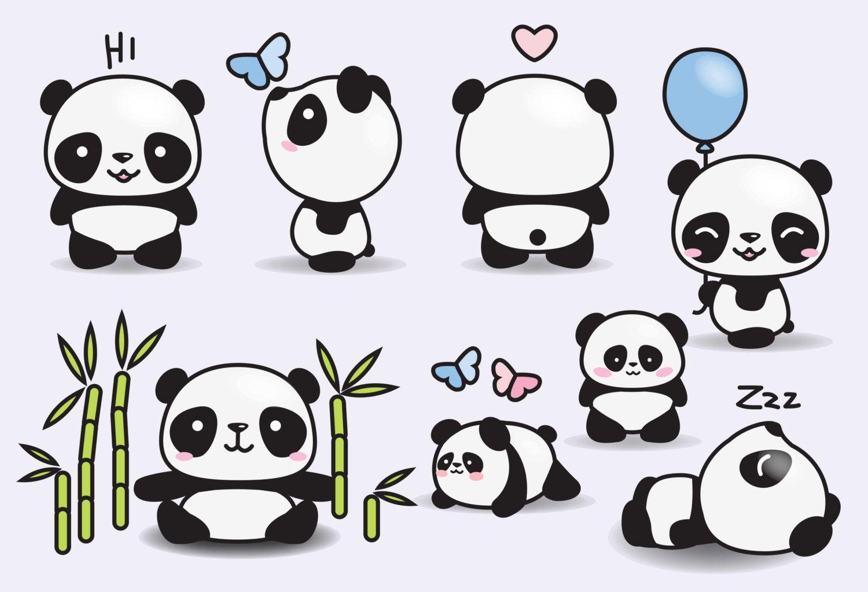 Картинки для личного дневника панды