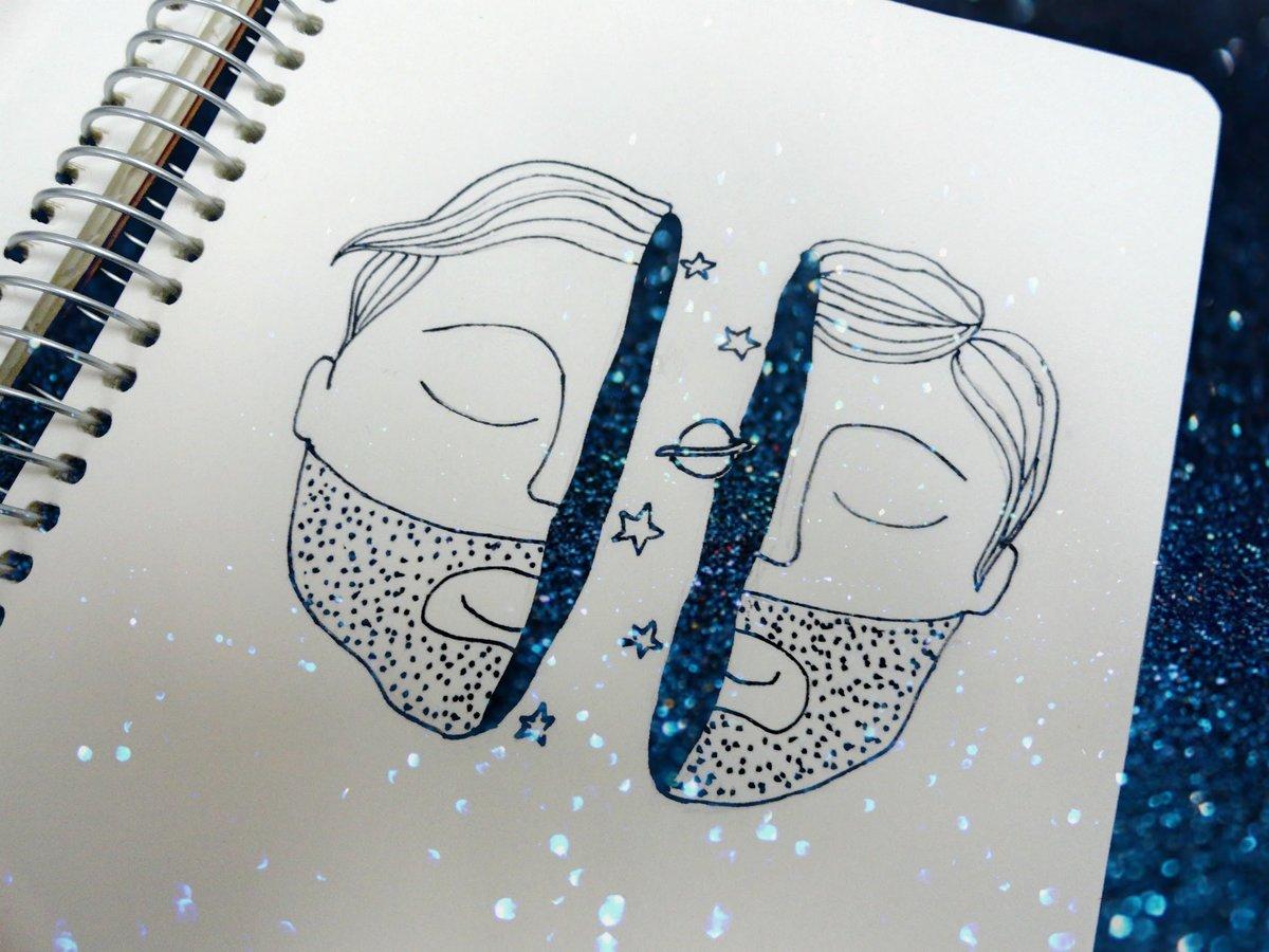 Прикольные рисунки в скетчбук для срисовки, открыток