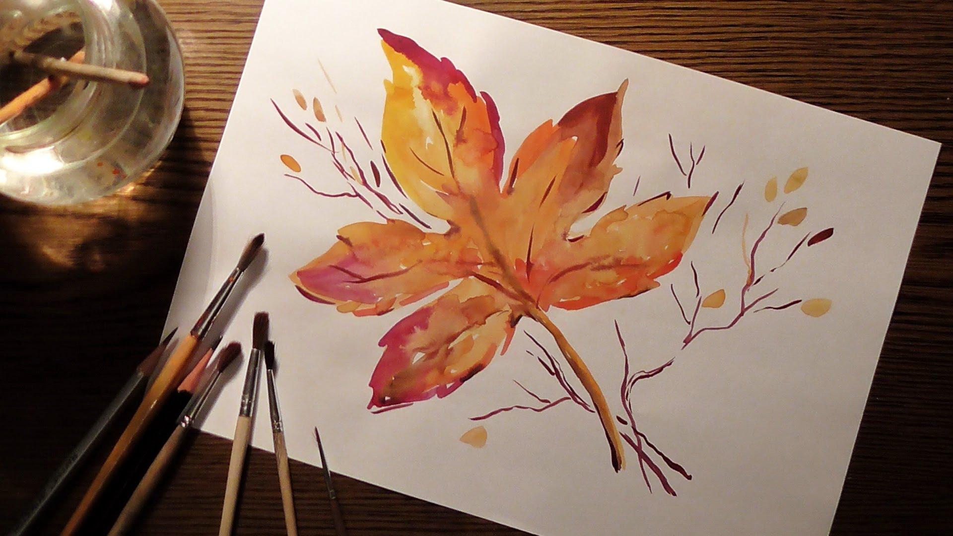 последнего легкие осенние картинки для рисования эффективно помогают чистке