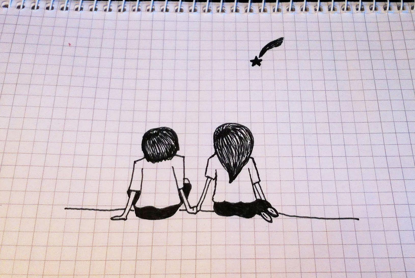 Картинки для срисовки карандашом для тетради
