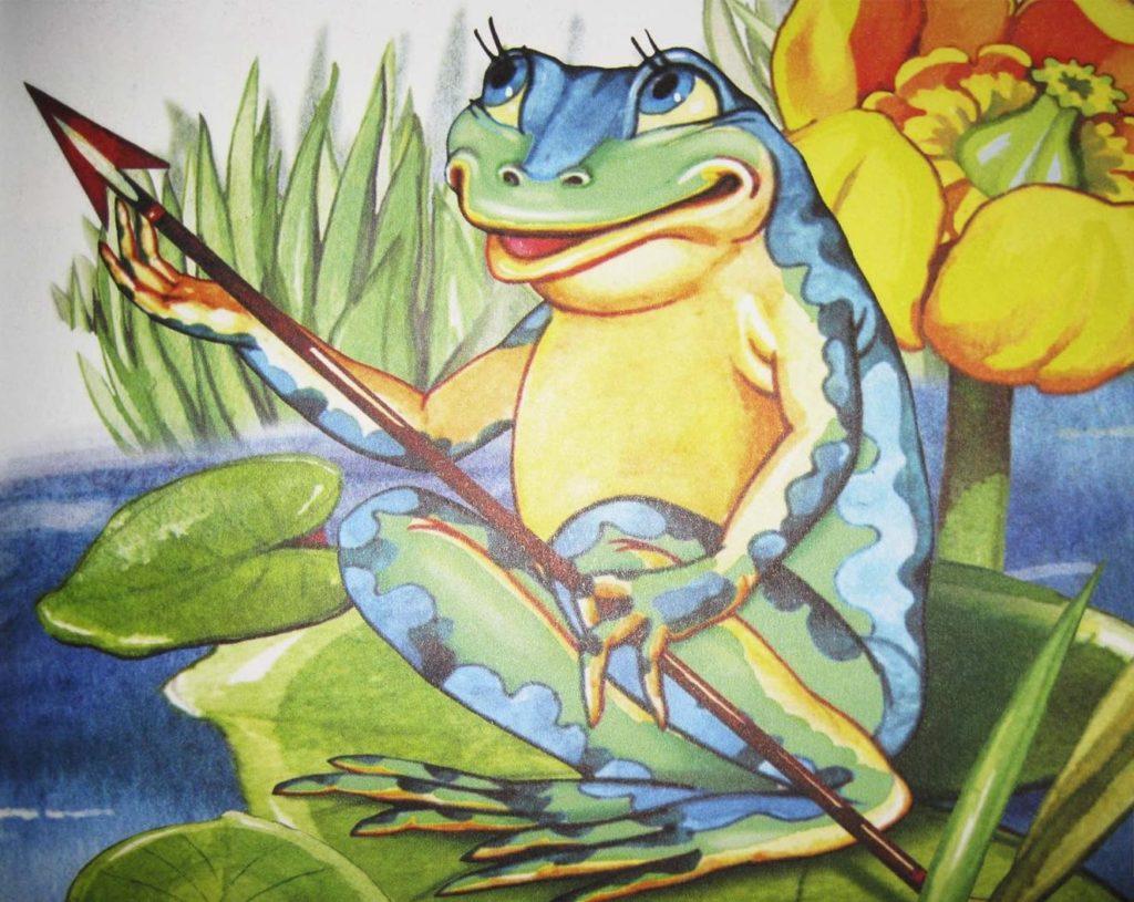 Сказочные картинки царевны лягушки