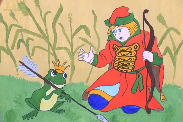 Иллюстрации к сказке царевна лягушка для детей