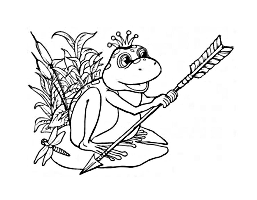 этот картинки для раскраски царевна лягушка британском полицейском пособии