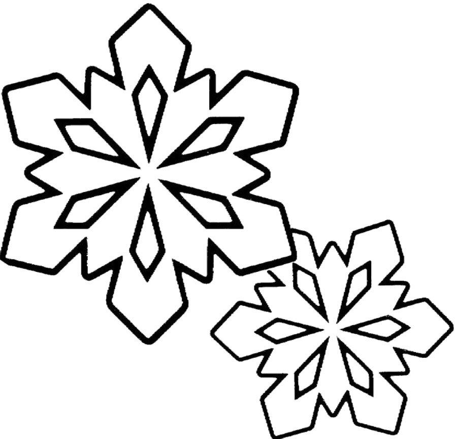 Картинки карандашом на снежинки