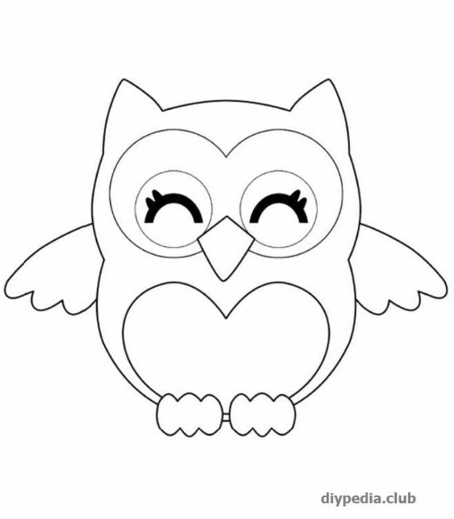 Совушки рисунки карандашом для срисовки