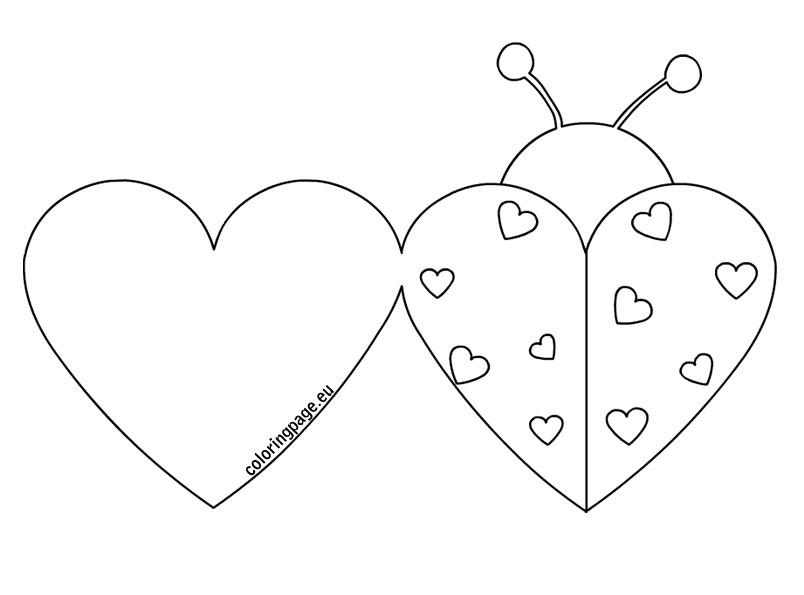 две валентинки шаблоны для открыток располагается